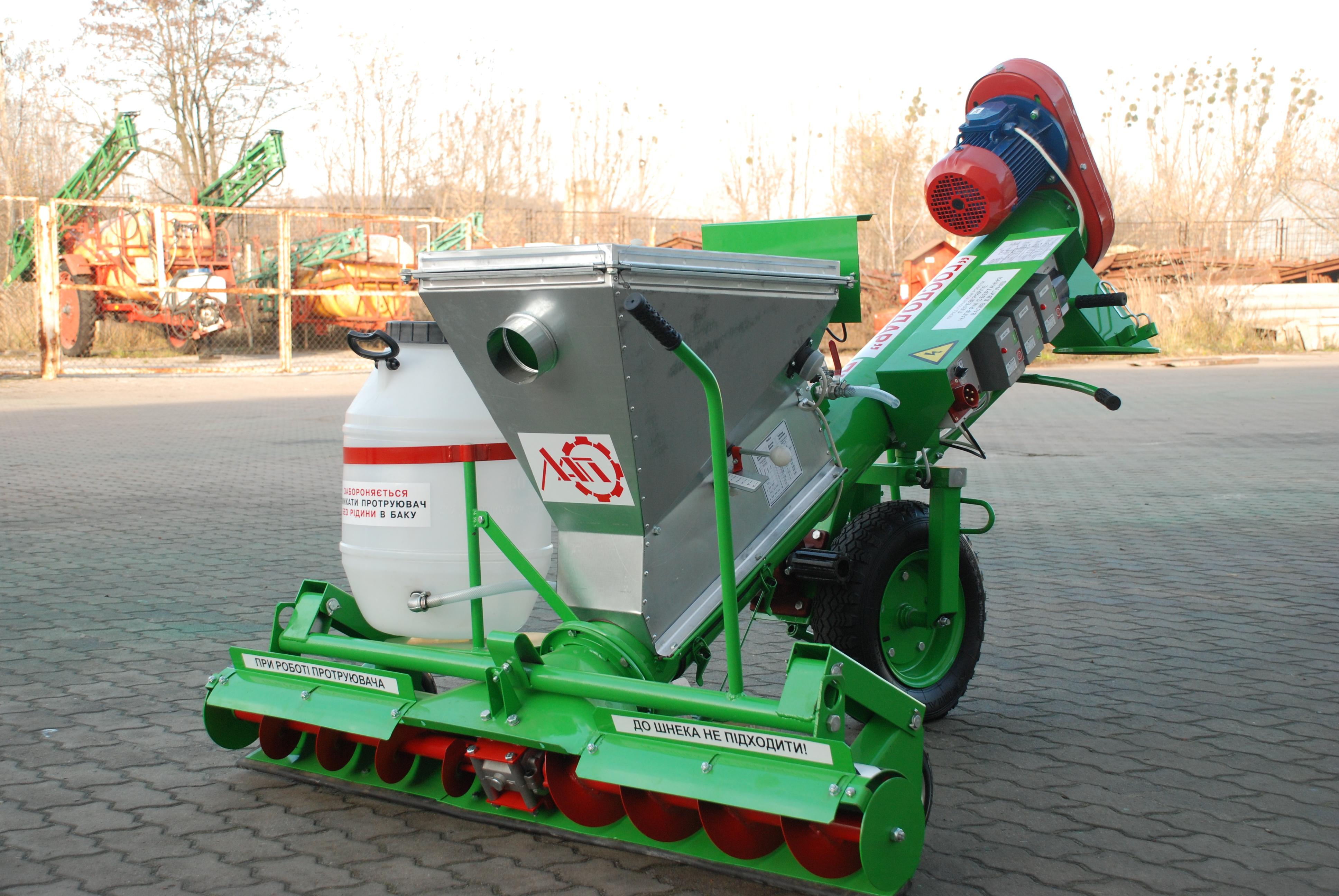Masina de tratat seminte MTS-5 MOBIL